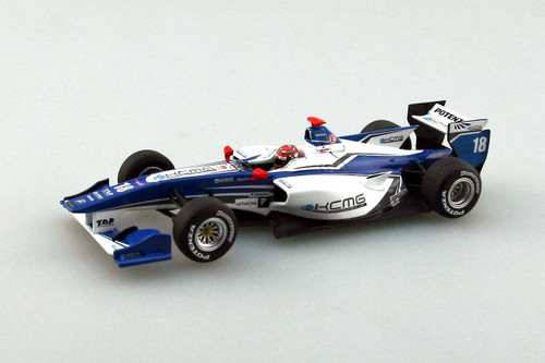 Ebbro 45121 KCMG Elyse SF14 2014 #18 Blue/White 1/43 Scale