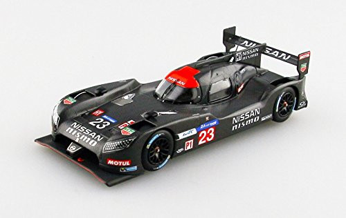 Ebbro 45252 NISSAN GT-R LM NISMO 2015 Test Car No.23 Black 1/43 Scale