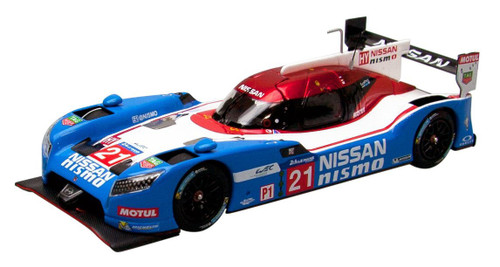 Ebbro 45254 NISSAN GT-R LM NISMO 2015 Le Mans 24 hours No.21 1/43 Scale