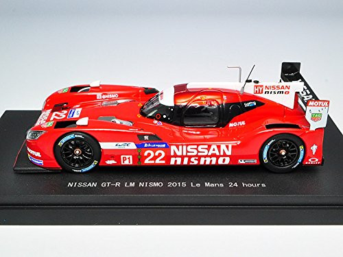 Ebbro 45255 NISSAN GT-R LM NISMO 2015 Le Mans 24 hours No.22 Red 1/43 Scale