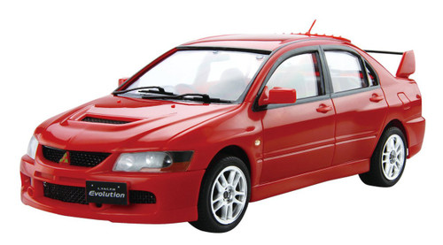 Fujimi Car-Easy 04 Mitsubishi Lancer Evolution IX 1/24 Scale Kit