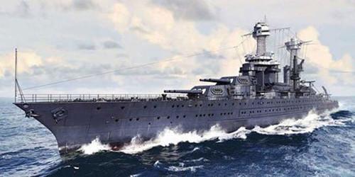 Pit-Road Skywave W-180 USS BattleShip BB-43 Tennessee 1941 1/700 Scale Kit