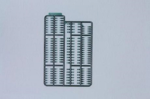 Fujimi KB02 Detail Up Parts Set for Track (Green) 1/32 Scale Kit