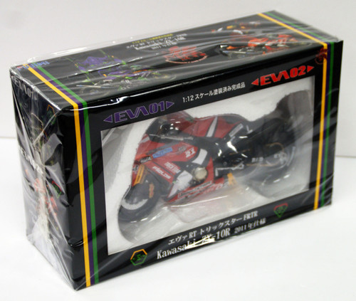Fujimi 152493 Evangelion RT 02 Kawasaki ZX-10R 2011 1/12 Scale Resin Model