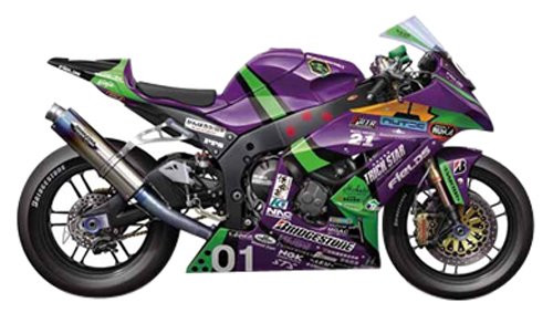 Fujimi 152486 Evangelion RT 01 Kawasaki ZX-10R 2011 1/12 Scale Resin Model