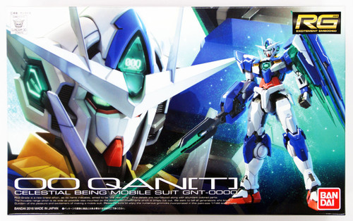 Bandai RG-21 Gundam GNT-0000 Double OO Quant 1/144 Scale Kit