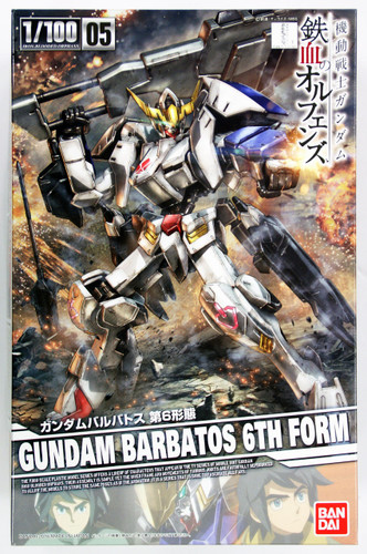 Bandai Iron-Blooded Orphans 073239 Gundam BARBATOS 6th Form 1/100 Scale Kit