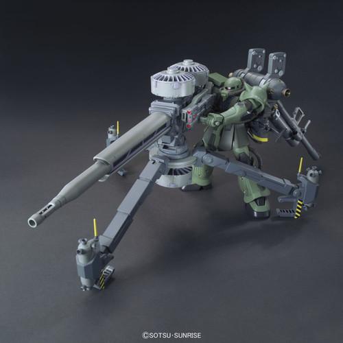 Bandai HG Gundam MS-06 ZAKU II + Big Gun Set (Thunderbolt Version) 1/144 Scale Kit