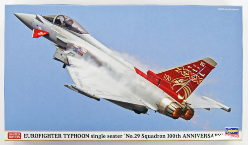 Hasegawa 02194 Eurofighter Typhoon Single-seat Type 29th Squadron 1/72 Scale