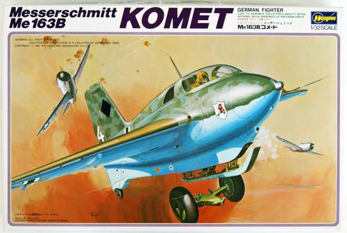 Hasegawa S4X Messerschmitt Me163B Komet 1/32 Scale Kit