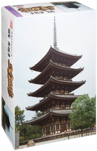 Fujimi Tatemono-7 Kofukuji Five-story pagoda (Japan) 1/100 Scale Kit