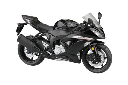Aoshima Skynet 97762 Kawasaki Ninja ZX-6R 2014 Black 1/12 Scale