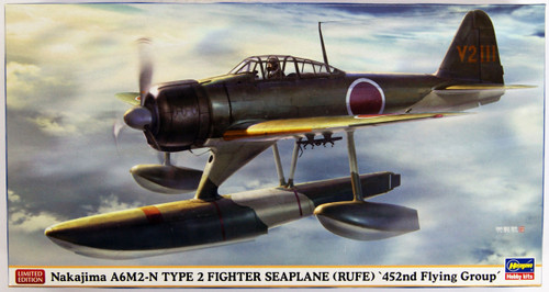 Hasegawa 07430 Nakajima A6M2-N Type 2 Fighter Seaplane '452nd Flying group' 1/48