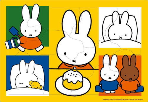 Apollo-sha Jigsaw Puzzle 26-29 One day of Miffy (10 Pieces)