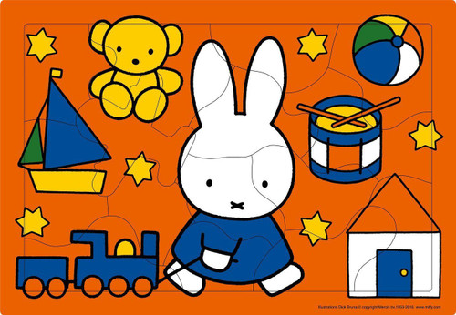 Apollo-sha Jigsaw Puzzle 26-31 Toy of Miffy (15 Pieces)