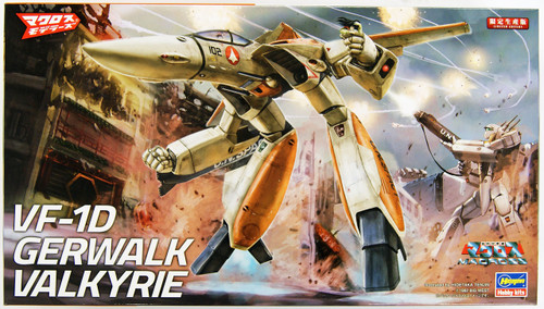 Hasegawa Macross 65832 VF-1D Gerwalk Valkyrie Limited Edition 1/72 Scale Kit