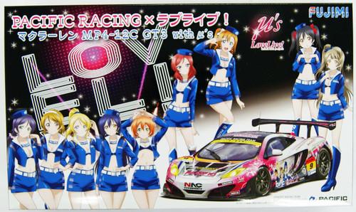 Fujimi 170305 Pacific Racing x Love Live! McLaren MP4-12C GT3 w/ u's 1/24 Scale