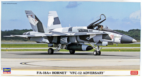 Hasegawa 02202 F/A-18A+ Hornet VFC-12 Adversary 1/72 Scale Kit Limited Edition