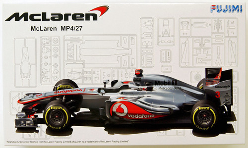 Fujimi GP11 092003 F1 McLaren MP4/27 Australia GP 1/20 Scale Kit 092003