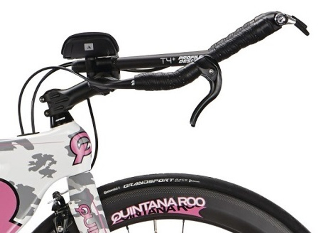 Quintana Roo - Shift Series - CD0.1 Shimano 105  Camo - Pink - Triathlon Bike - Profile T3 Aerobar - Ism Adamo Saddle