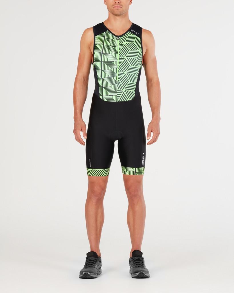 Black/Geo Neon Green