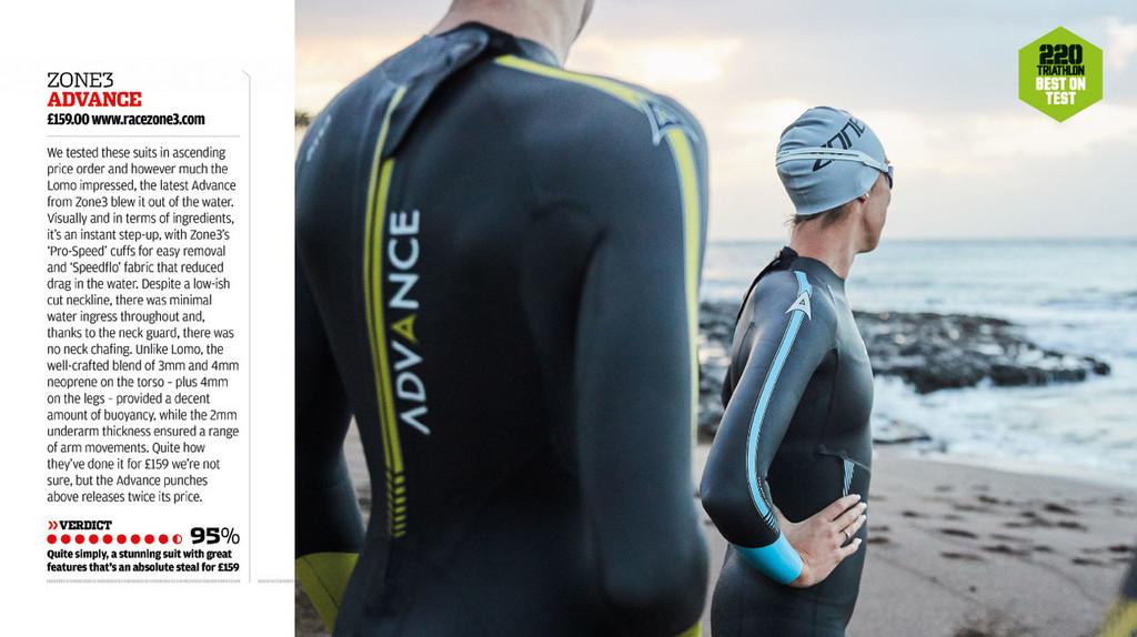 Zone3 - Advance Wetsuit - Men's - 2018 - Ex-Rental 1 Hire