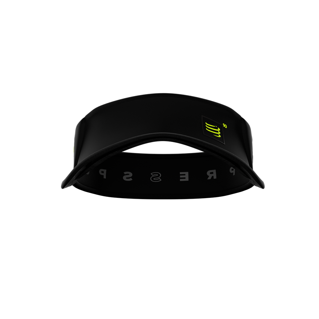 Compressport - Spiderweb Ultralight Visor - Black Edition 10