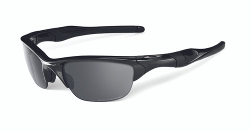 Oakley Sports Performance Half Jacket 2.0 Polarised Sunglasses - Polished Black Frame - Black Iridium Lens  OO9144-04