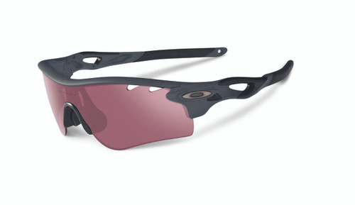 Oakley Sports Performance Sunglasses - Radarlock - Matte Heather Grey Frame - G30 Iridium & Grey Vented Lens -  OO9181-04