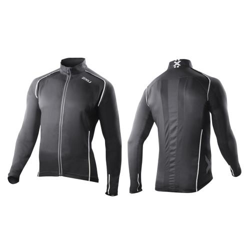 2XU Vapor Mesh 360 Run Jacket - Men's - Black
