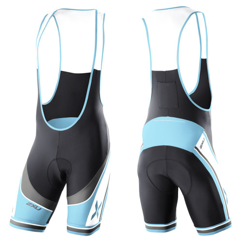 2XU - Men's Sublimated Cycle Bib Shorts