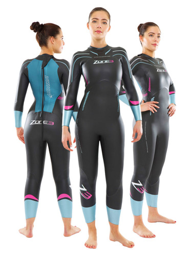 Zone 3 Women's Vision Wetsuit - EX RENTAL One Hire - XS Only