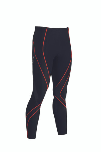 CW-X Men's Insulator Endurance Pro Tights Black Orange