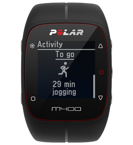Polar - M400 Sport Training Watch with HRM + GPS