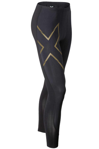 2XU - Men's Elite MCS Compression Tights - Black/ Gold