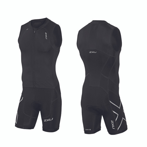2XU - Compression Full Zip Trisuit - Men's