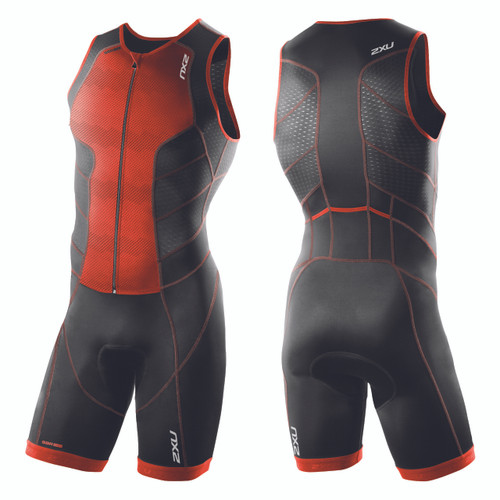 2XU - Men's Perform Full Front Zip Trisuit - Size S Only
