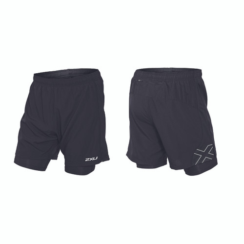 "2XU - Momentum 7"" 2-in-1 ICE-X Short - Men's"