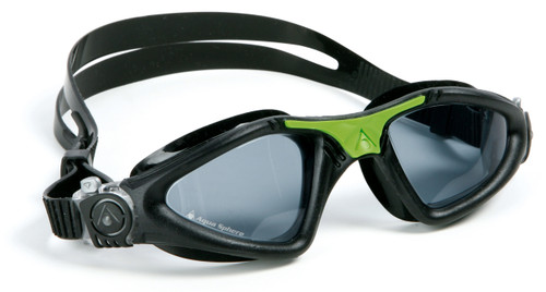 Aqua Sphere - Kayenne Goggle - Black/Green - Dark