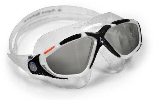 Aqua Sphere - Vista Goggles - Smoke Lens - White/ Black