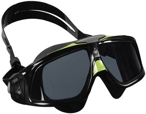 Aqua Sphere - Seal 2.0 Goggles - Smoke Lens - Black/ Green