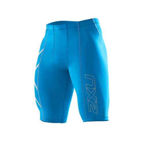 2XU Core Compression Short - Men's Royal Blue XL Only