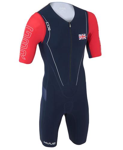 HUUB - Dave Scott Long Course Suit - Patriot GB