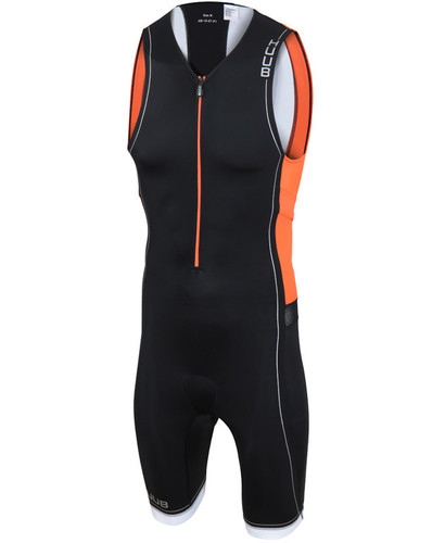 HUUB - Men's Core Trisuit - Black/Orange