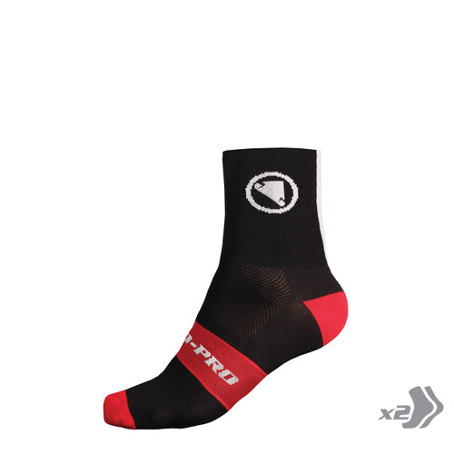 Endura - FS260-Pro Sock (Twin Pack)