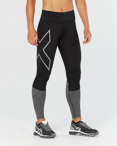 2XU - Women's Mid-Rise Reflect Compression Tights - AW17