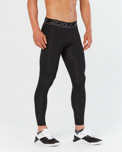 2XU - Men's Accelerate Print Compression Tights - AW17