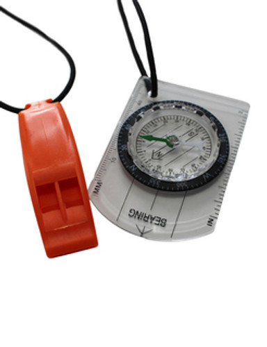 Zone3 - Swim-Run Compass & Whistle Bungee Combo