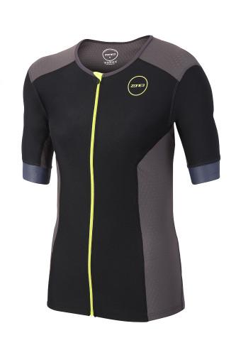 Zone3 - Aquaflo Plus Short Sleeve Tri Top - Men's - 2018