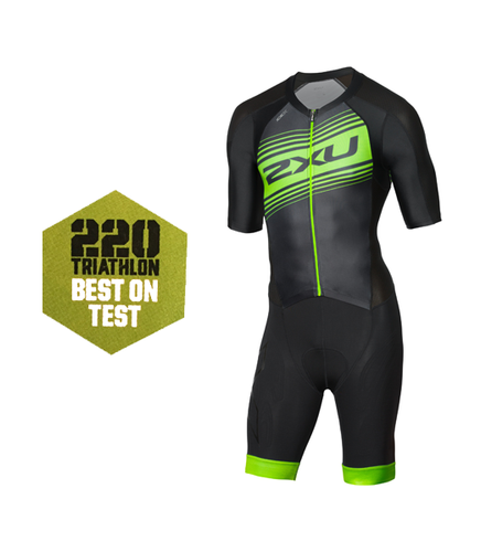 2XU - Compression Full Zip Sleeved Trisuit - Men's - 2018